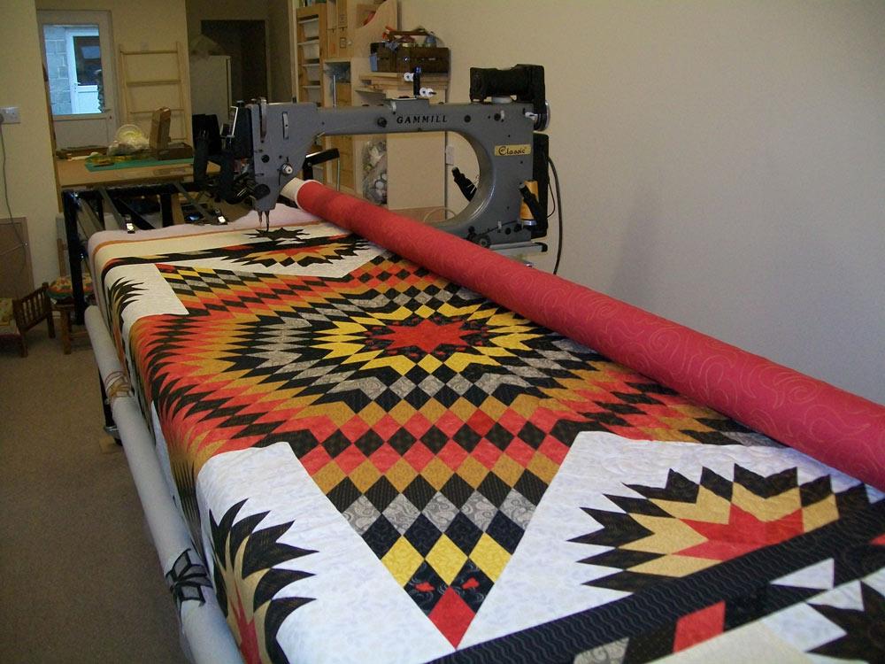 arm quilting machine thread